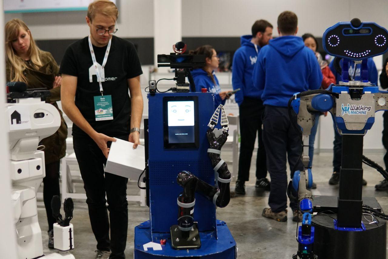 Robots all around