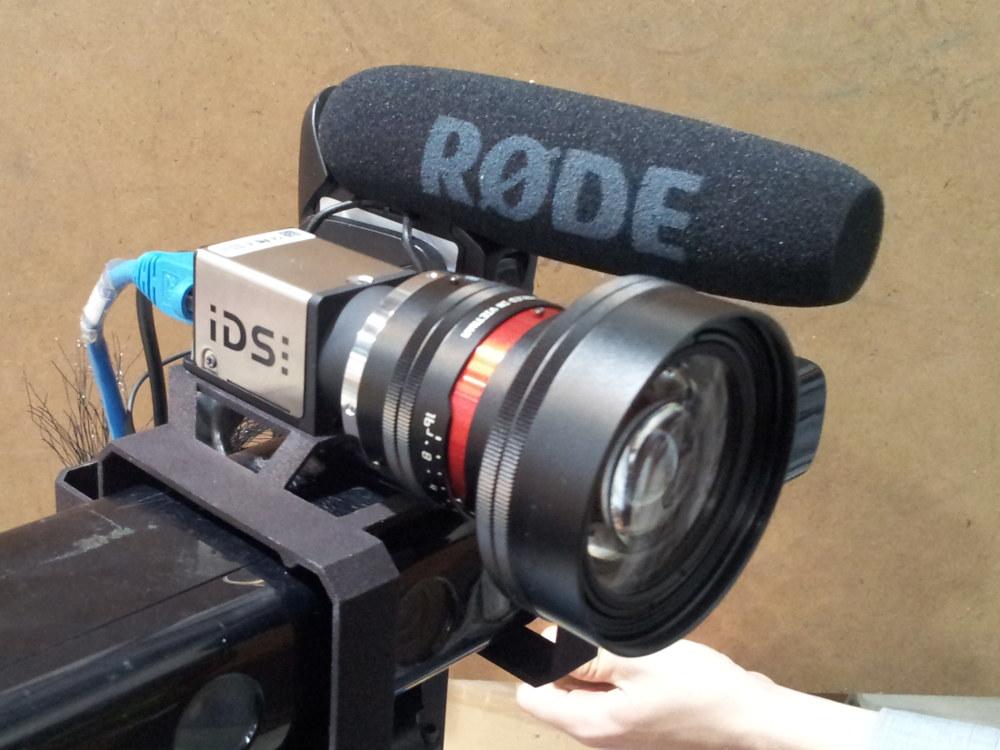 My new IDS camera